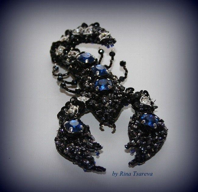 ручная вышивка broderie art crochet Lunéville (мои работы) - rina-tsareva-art.com