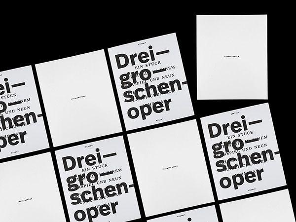Dreigroschenoper Threepennyopera on Behance