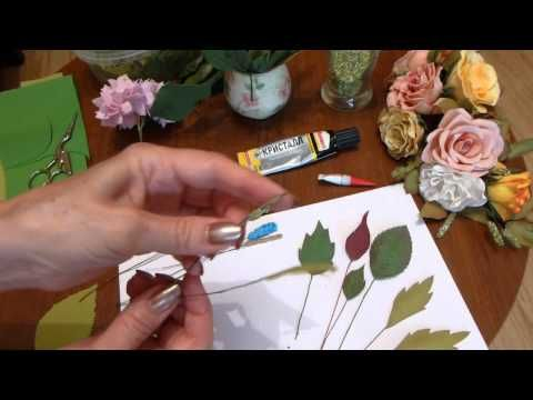 Зелень и листва для наполнения композиций