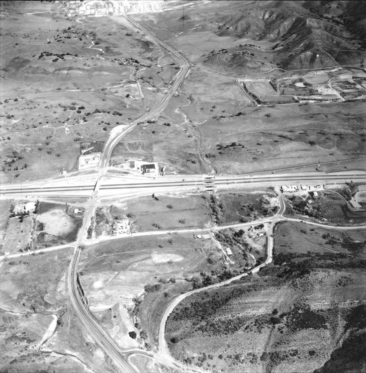 Kanan Road and 101 Freeway, Agoura High School, 1967