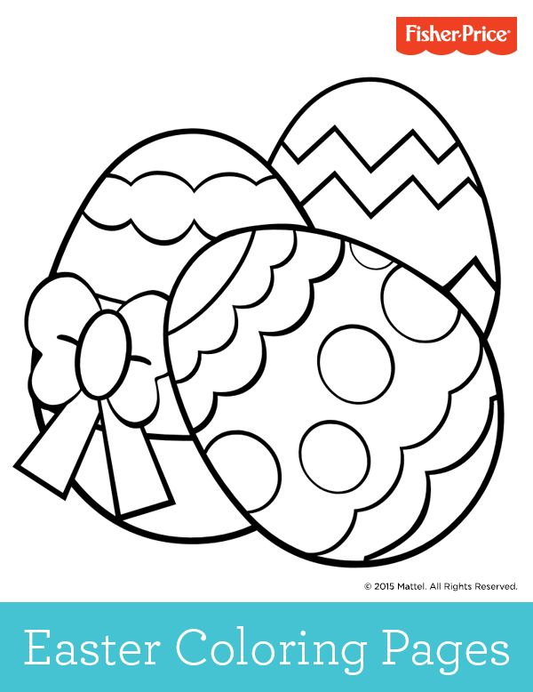 No need to hunt for these Easter eggs! Grab the crayons and let your kids get creative with these printable coloring pages.