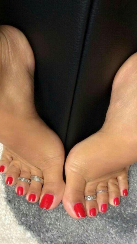 Beautiful Long Toenails