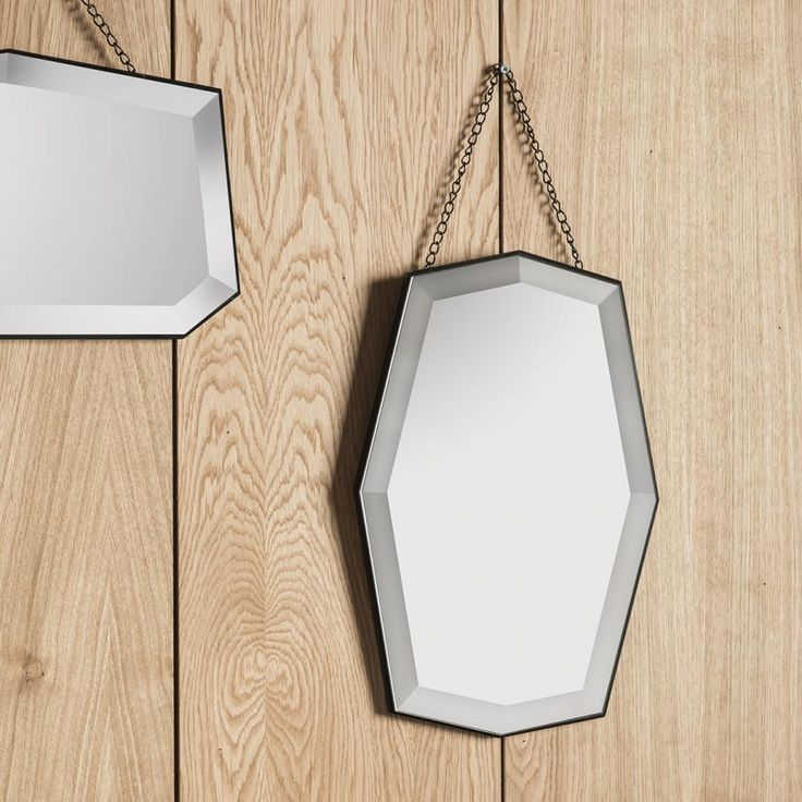 Gallery Direct Contemporary Cullen Frameless Wall Mirror