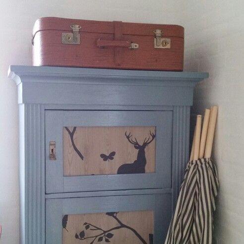 Gammel fin kuffert