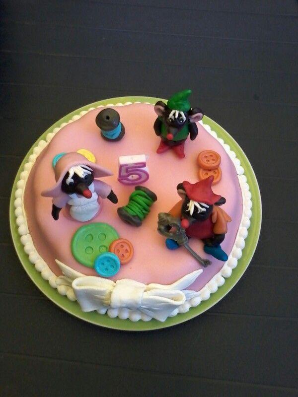 Assepoester taart / princess cinderella cake