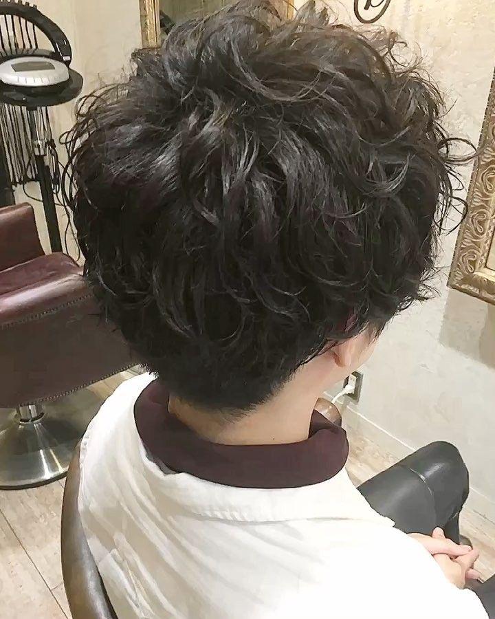 メンズスタイルカットパーマカラーでイメチェンコース    #hairstyle #hairstylist #熊本 #熊本美容室 #メンズヘア #ツーブロック #マッシュ #パーマ #メンズパーマ #スパイラルパーマ #メンズカラー #アディクシーカラー #アッシュ #暗髪