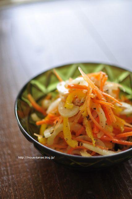◎減塩◎ツナバジル風味の玉ねぎサラダ