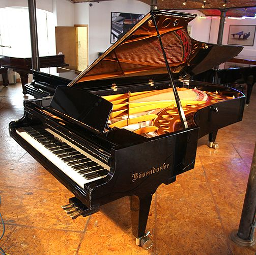 A 1974 bosendorfer model 290 imperial grand piano with a for Piano diviso