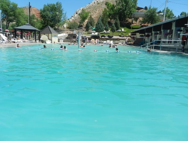 Hot Springs State Park in Thermopolis Wyoming: a how to guide from www.pitstopsforkids.com