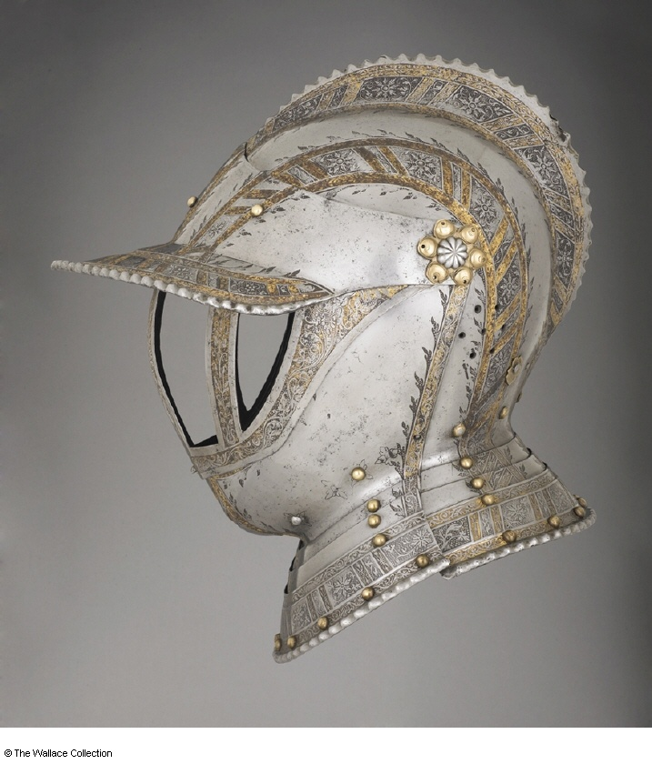 German helmet c. 1550-1560- many more at the link