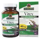 Nature's Answer - Vitex (Agnus-Castus) Chastetree Berry Single Herb 40 mg. - 90