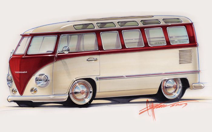 Foose Design VW bus