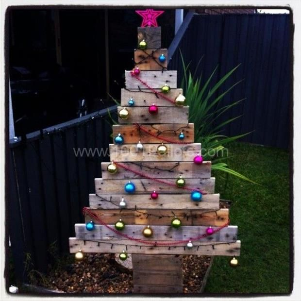Most Popular Christmas Decorations On Pinterest To Pin: Amazing Uses For Old Pallets €� 50 Pics