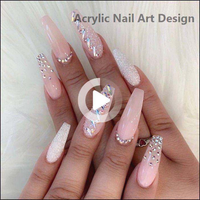 138+ kreative und neueste Acrylnägel Designs für… #