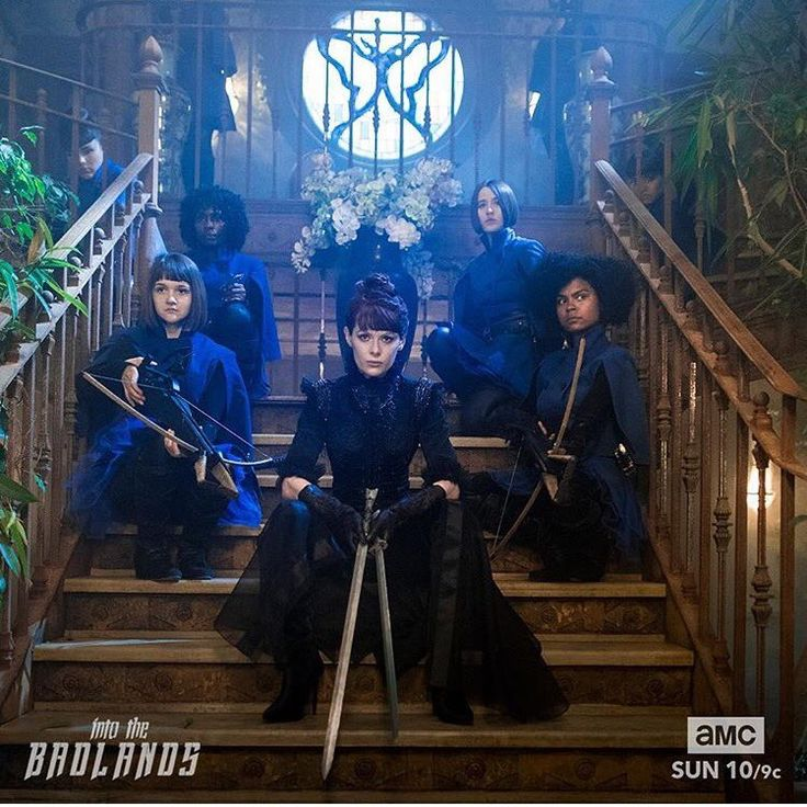 The Widow and The Butterflies, 'Into the Badlands'