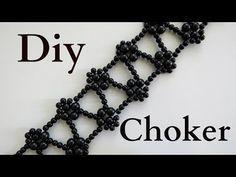 DIY - CHOKER GARGANTILHA COLAR BRACELETE - YouTube