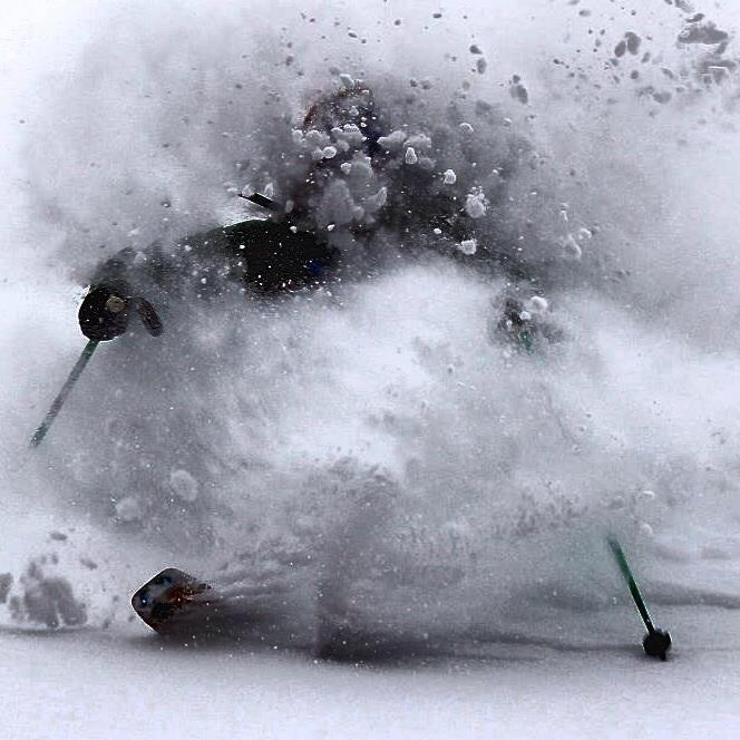 Our Friend TOMMY ARMENTO shreding a deep powder day!!