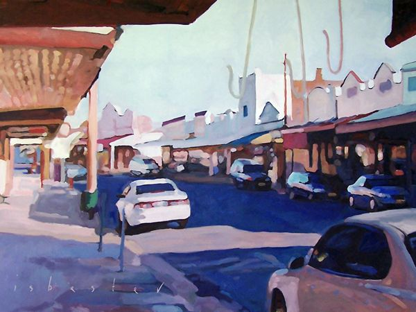 'Afternoon Streetscape'