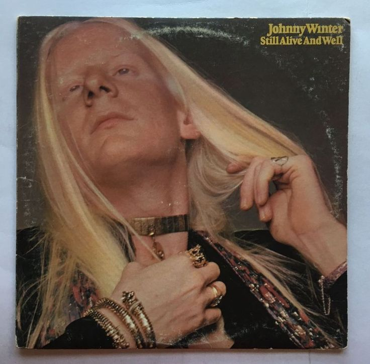 JOHNNY WINTER [LP] STILL ALIVE AND WELL (VINYL 1973 COUMBIA RECORDS) KC 32188 #CLASSICROCK