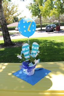 Always Time for Crafting: Flip Flop Birthday Party