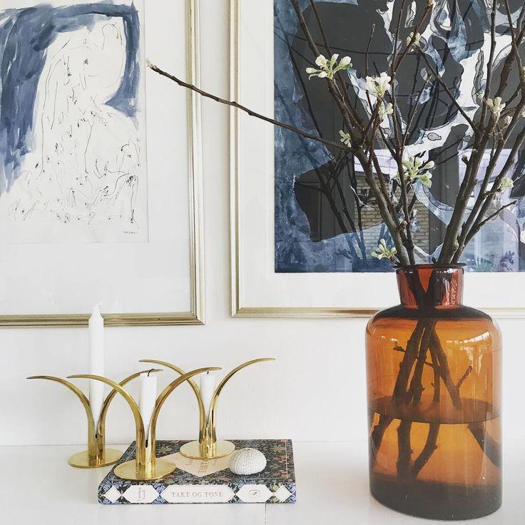 Johannes Holt Iversen - Ink Study in Interior Setting, Copenhagen