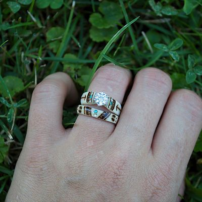 9 best ANTLER RINGS images on Pinterest Antler ring Deer antlers