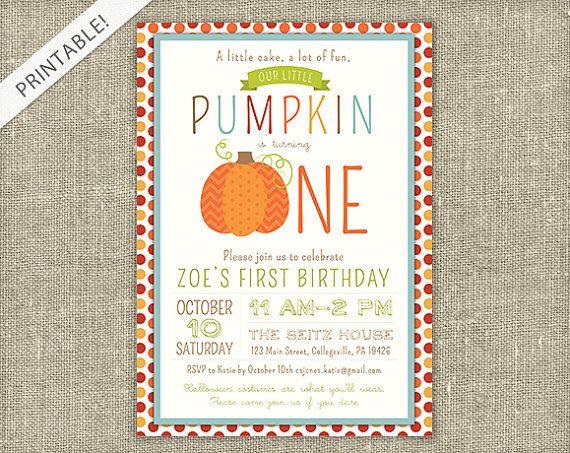 The 25 best Fall birthday invitations ideas on Pinterest