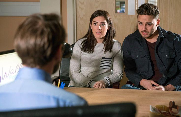 Emmerdale's Adam and Victoria Barton receive devastating news over their baby chances  - DigitalSpy.com