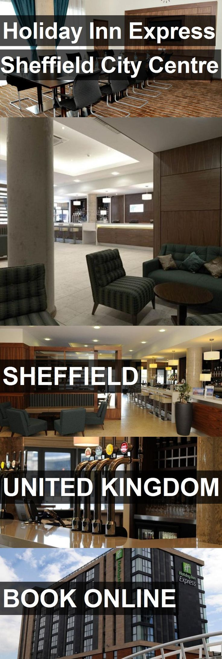 Hotel Holiday Inn Express Sheffield City Centre in Sheffield, United Kingdom. For more information, photos, reviews and best prices please follow the link. #UnitedKingdom #Sheffield #travel #vacation #hotel