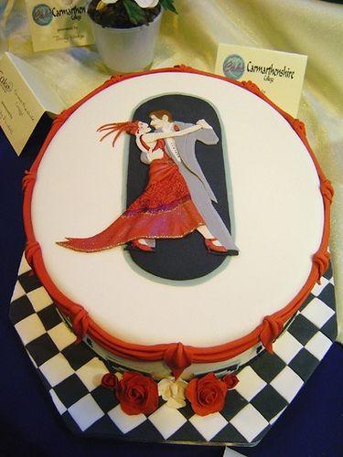 Art Deco Lady Cake : 11 best images about Gala Dessert on Pinterest Gold art ...