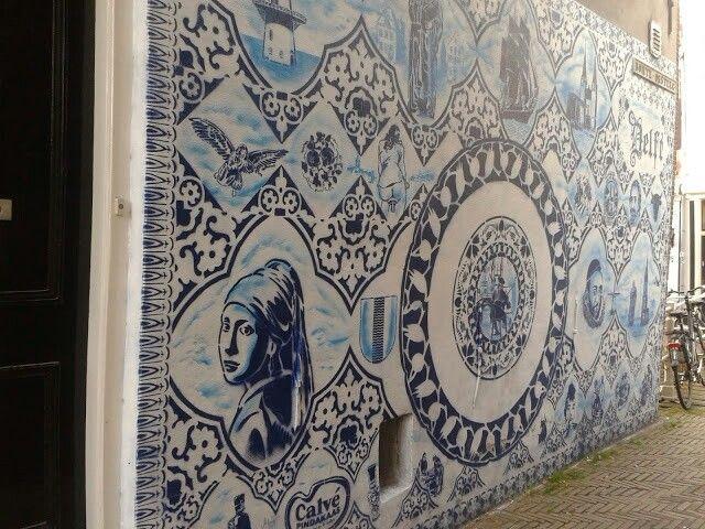 Streetart, Delft, the Netherlands