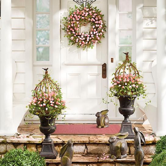 easter decor easter ideas spring decorations garden decorations