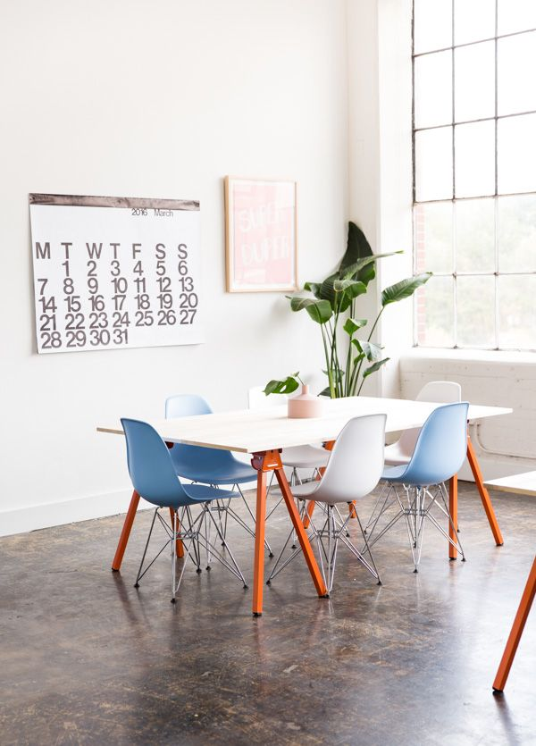 How to Make DIY Wood Workspace Tables