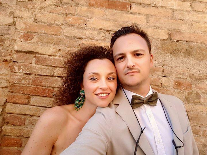 Andrea ha scelto il nostro #papillon camouflage per  uno stile fuori dagli schemi! Grazie!!  #accessori #matrimonio