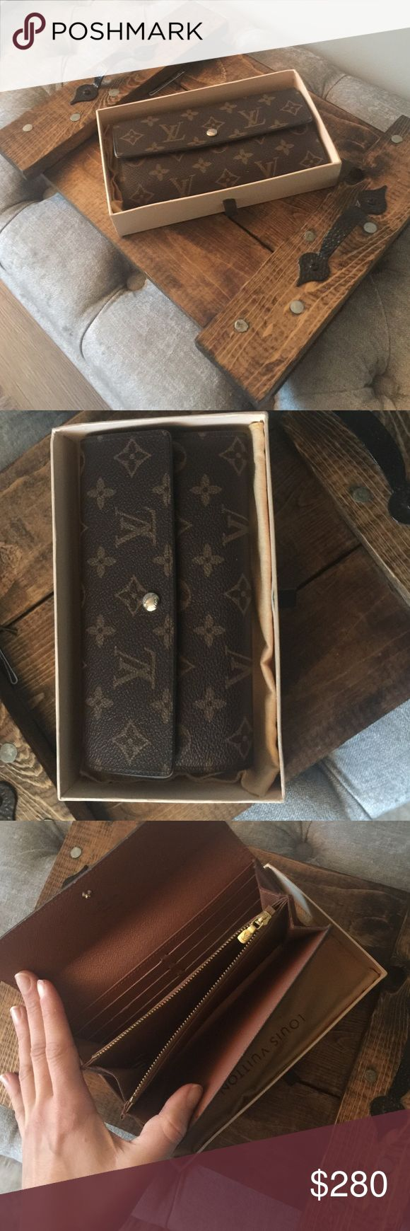 LV wallet Price reflects authenticity.. as far as I am aware. I purchased this at an upscale consignment shop and paid 450 for it under the impression it was fully authentic. I took it to another and the girl said she couldn't find a code.. so I don't know! However, I think the wallet looks nice and is decent material. I usually purchase Valentino so this brand I'm not sure of materials etc. Louis Vuitton Bags Wallets