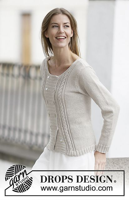 Ravelry: 160-9 Beverly pattern by DROPS design