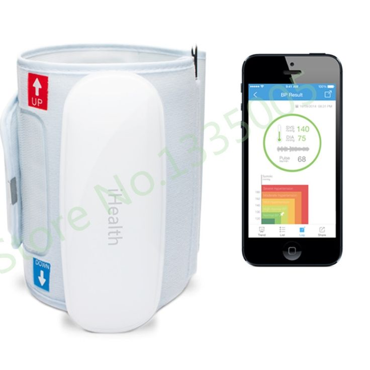 109.95$  Buy here - http://alilyo.worldwells.pw/go.php?t=32376755416 - 2015 Hot Sale Aparelho De Pressao Digital Ihealth Bp5 Wireless Blood Pressure Monitor Bluetooth Smart Android Or Ios Suitable