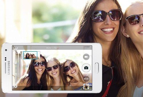 Kamera Galaxy A5