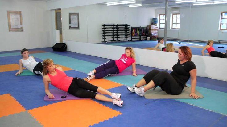 Šikmé břišní svaly - Abdominal External Oblique Muscle Training