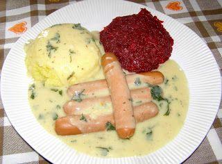 W Mojej Kuchni Lubię.. : sos musztardowy do parówek...