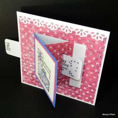 Beccy's Place: Tutorial: T-Slide Cards
