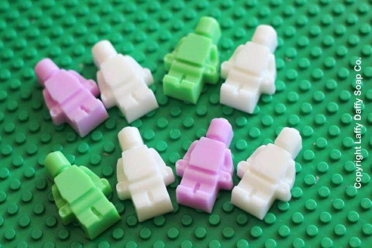 Girls coloured mini men soaps
