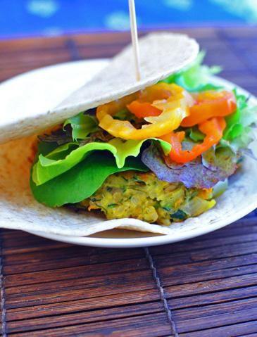 Hamburger Recipes : Quinoa Veggie Burgers