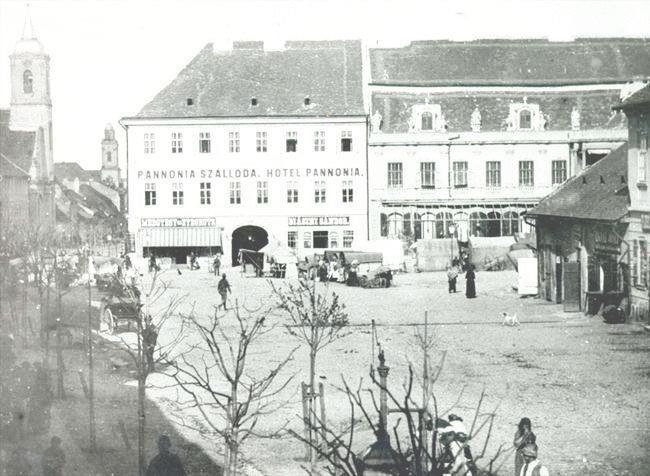 Cluj - Hotel Pannonia - 1887
