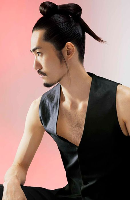126 best 2015 samurai top knot hairstyles makeup images on