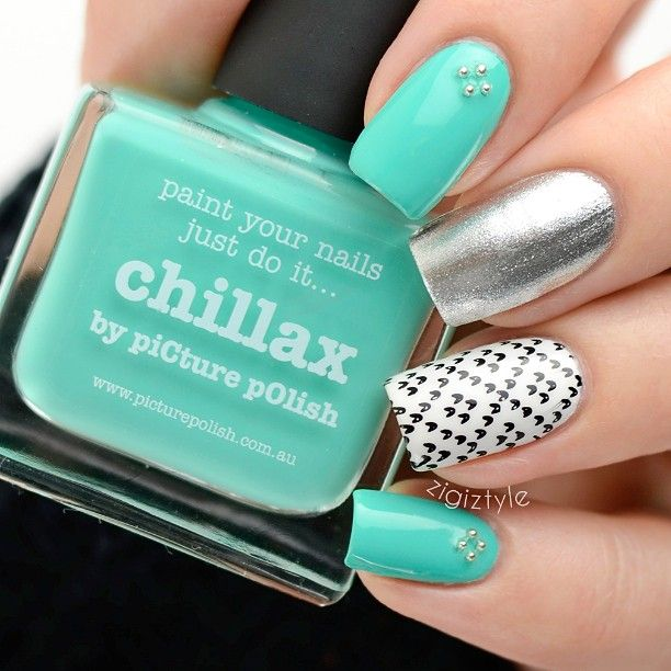 17 Best Images About Nail Art: Mix&Match Nails On
