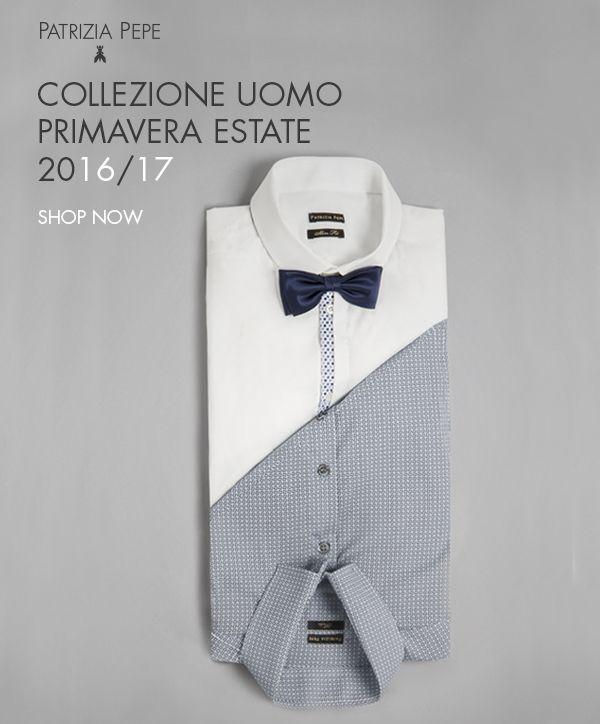 Da sempre le camicie Patrizia Pepe Uomo danno confort, vestibilità e durata... www.saccostore.it