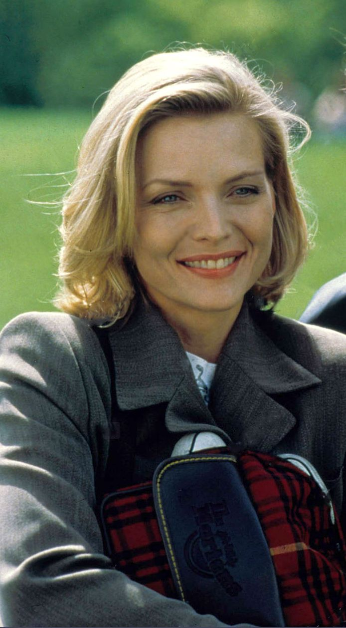 Michelle Pfeiffer in the movie One Fine Day.