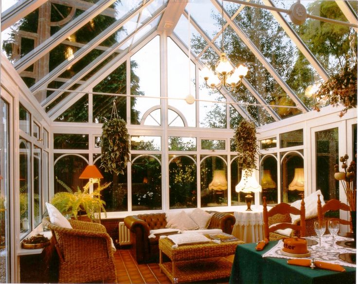 High ceiling, light and airy gable ended conservatory - Image source: Vivaldi Conservatories