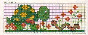 orsetto punto croce - Buscar con Google